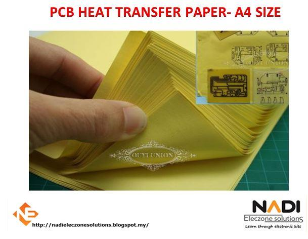 Heat Toner Transfer PCB Paper A4 For DIY PCB Electronic Prototype