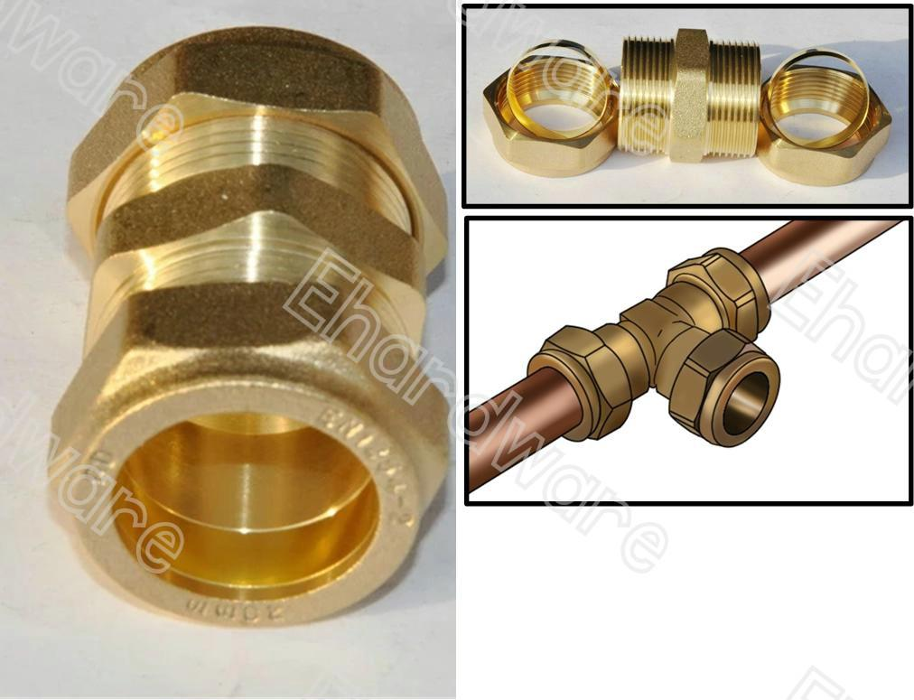 3 4 Inch Female Garden Hose By 1 Compression Brass Adapter
