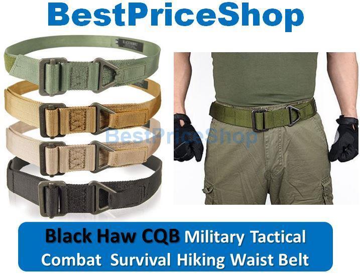 Heavy Duty Black Hawk CQB Military Combat Tactical Rescue Rigger Belt