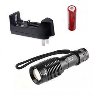 Heavy Duty T6 High Power LED Flashlight