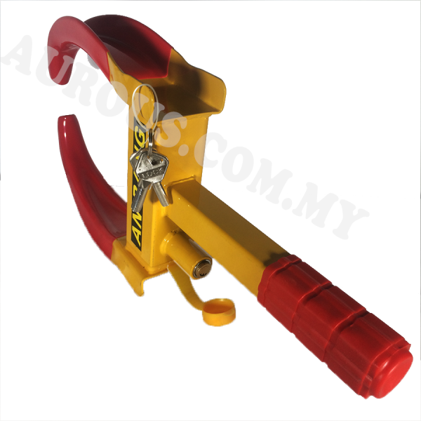 Heavy Duty Wheel Clamp Tyre Lock Anti-theft For Vehicle Car with 3Keys