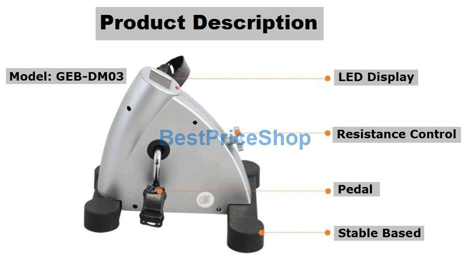 Heavy Stable Mini Genuine Exercise Bike Cycle Fitness Bicycle
