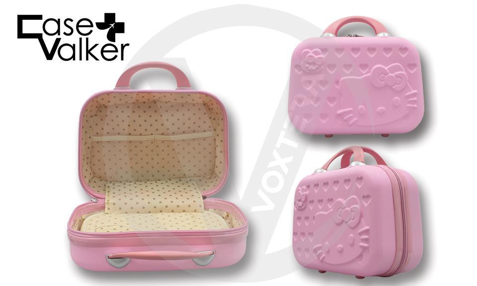 37841be9b681 Hello Cute Kitty Luggage Bag School Bag Sakura Pink 14  20  ...