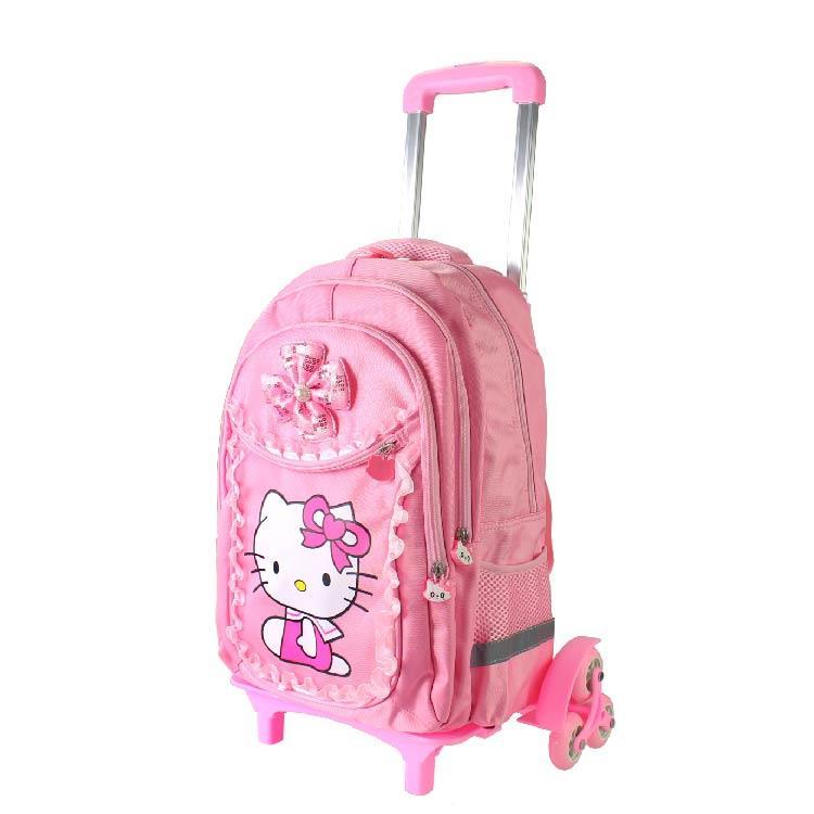 05458ba3acb0 Hello Cute Kitty School Bag 6 Wheel (end 5 28 2020 12 15 PM)