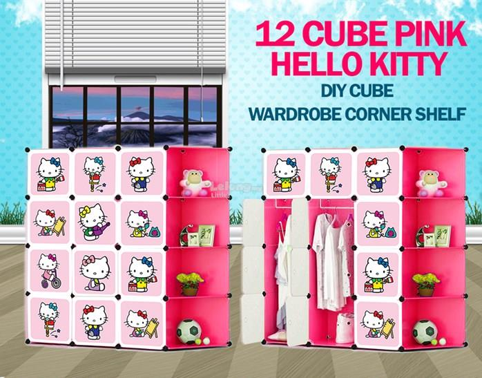 NEW HELLO KITTY 12 CUBE DIY WARDROBE end 482018 112 PM