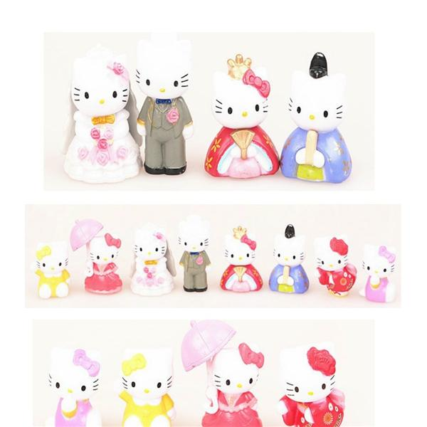 Hello Kitty 8pcss collection + gift