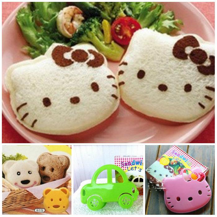 Hello Kitty Bear Car Bread Sandwich End 5 10 2016 8 15 Pm