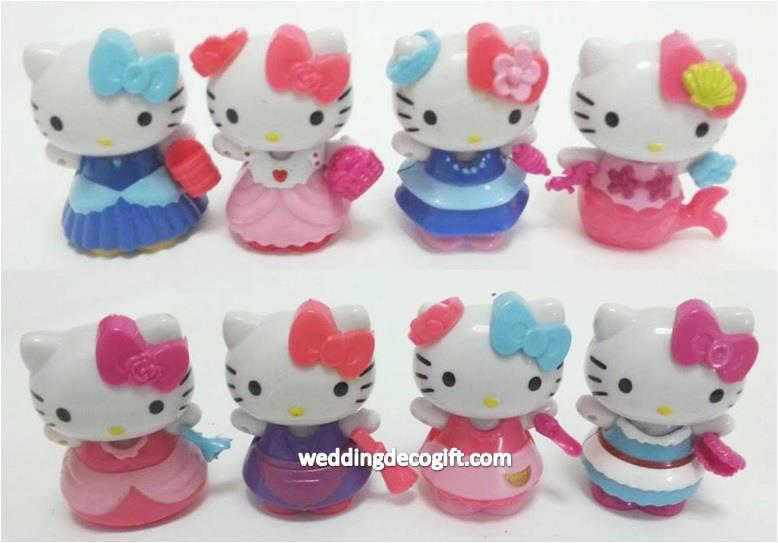 Hello Kitty Toys For Cakes : Hello kitty cake topper toy figures end  pm