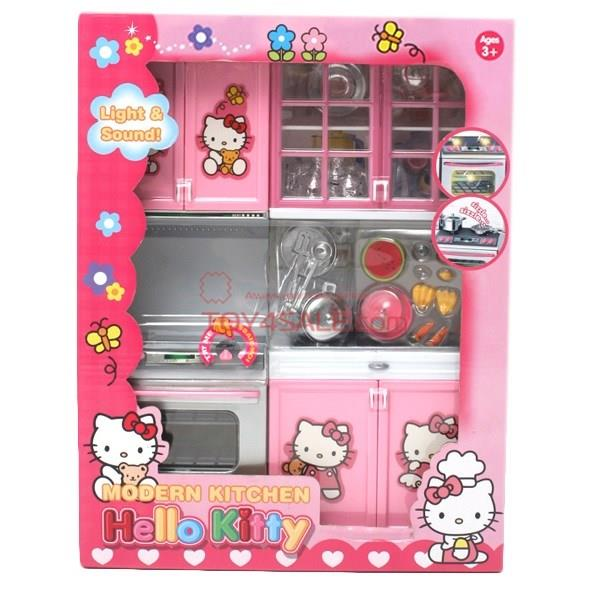 Hello Kitty Toys Set : Hello kitty cat modern light sizzl end pm