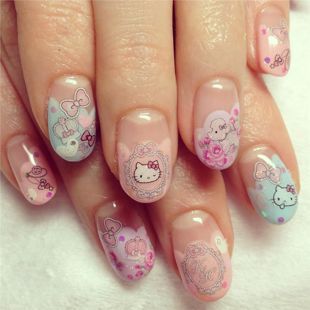 Hello Kitty Cat Nail Art Decal Acce End 8182019 1215 Am
