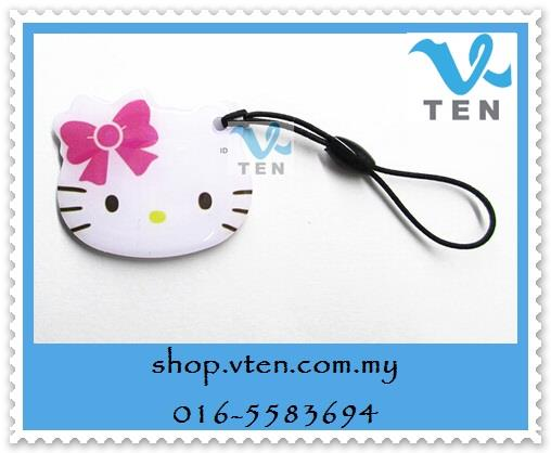 Hello Kitty Copy Rewritable Writable Rewrite ID Card Keyfobs RFID Key