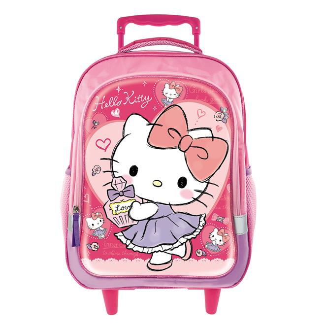 HELLO KITTY DANCE PRIMARY TROLLEY BAG