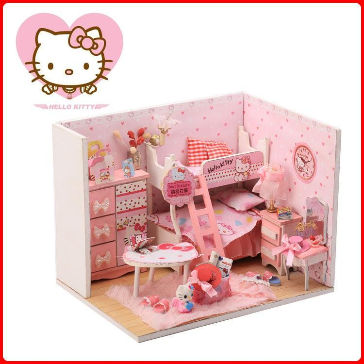 Hello Kitty DIY Bedroom With Light/A (end 8/26/2020 9:15 AM