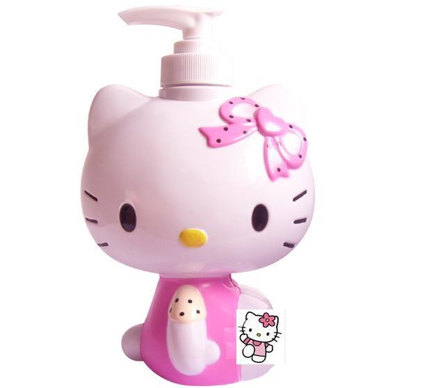 Amazing HELLO KITTY/DORA Hand Body Soap Dispenser Pump Bottle HK012 Gallery
