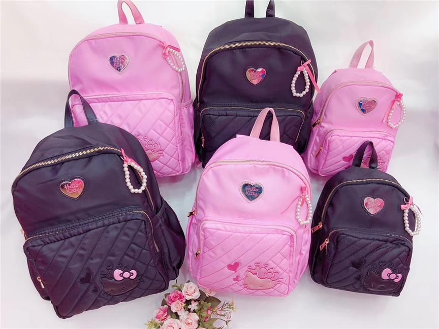 3f5d8599e4 Hello Kitty Kid Girls School Bag Backpack Shopping Bag Small Medium