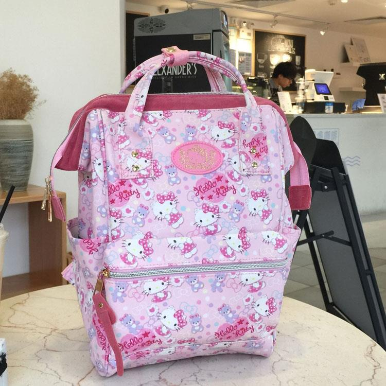 Hello Kitty Kids Anello Design Shopping Backpack School Bag FA9631. ‹ › c44e6d1ca030a