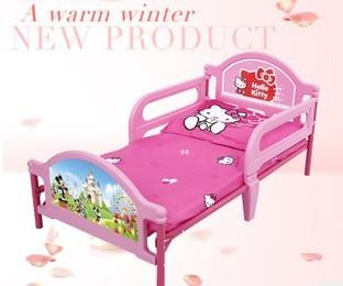 Hello Kitty King Mc Queen Children Kids Single Bed Mom Kid Mommy