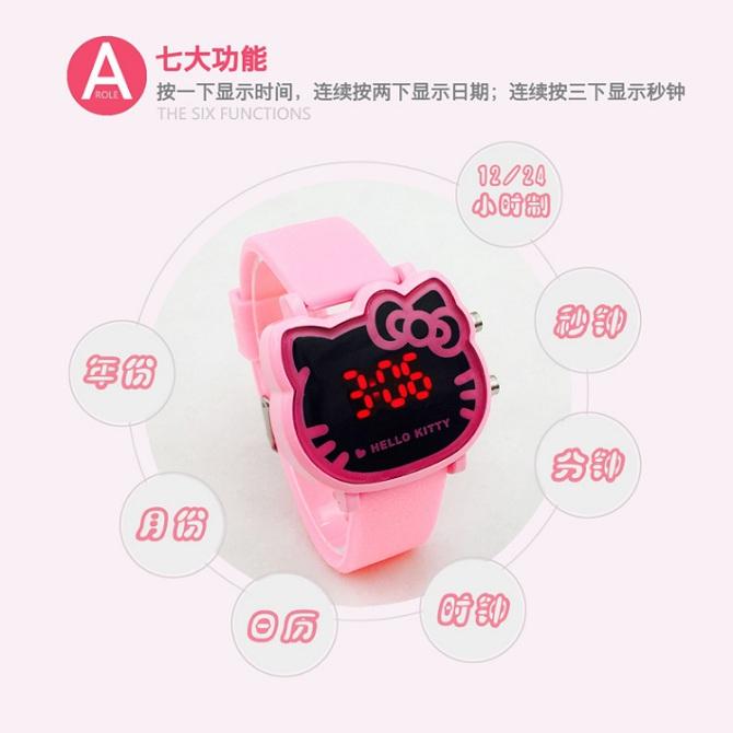 b8a807fa5 Hello kitty Led Digital Watch Chil (end 12/30/2020 12:00 AM)