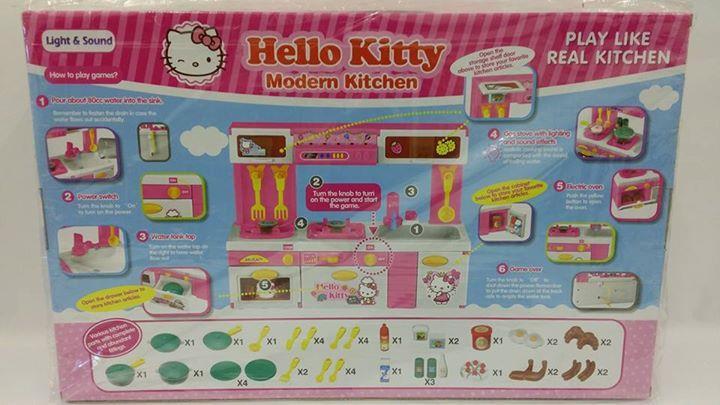 Hello Kitty Modern Kitchen, play li (end 12/16/2017 5:15 PM)