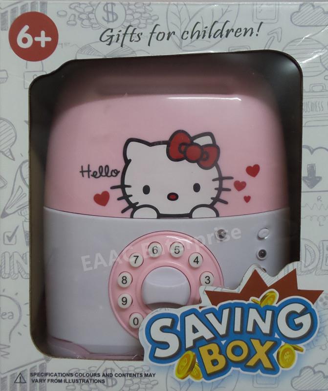 Hello Kitty Money Saving Coin Bank Safe Deposit Security Box Luggage & Hello Kitty Money Saving Coin Bank (end 6/20/2018 10:15 AM) Aboutintivar.Com