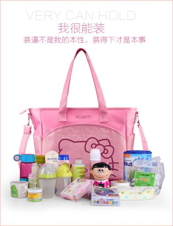 Hello Kitty Mummy Bag Large Capacity Portable Shoulder Bag