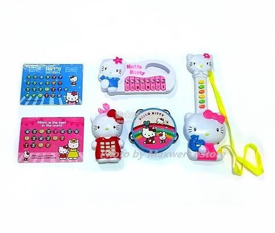 Hello Kitty Musical Play Set with Keyboard, Guitar, Tambourine & Phone