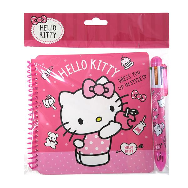 HELLO KITTY NOTEBOOK WITH BALL PEN S (end 12 5 2019 1 15 AM) d5bc9644b49f1