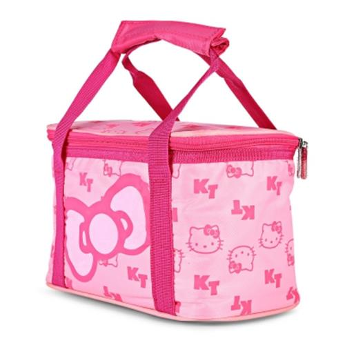 HELLO KITTY PORTABLE INSULATED THERMAL FOOD PICNIC LUNCH BAG (L.PINK) 1f193f3431c40