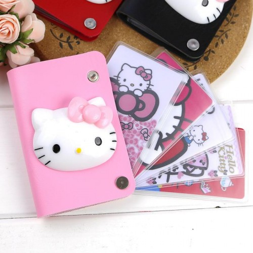 Hello kitty pu leather 10 slots bus end 9112018 1113 pm hello kitty pu leather 10 slots business member card holder reheart Choice Image