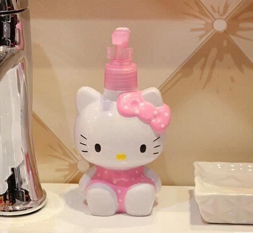 Hello Kitty Pump Bottle Soap Dispenser Container Empty Bottle . Design Inspirations