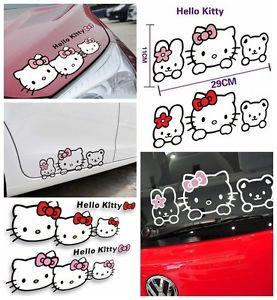 Hello Kitty Sticker / Decal for Car, Window, Laptop Assorted Designs
