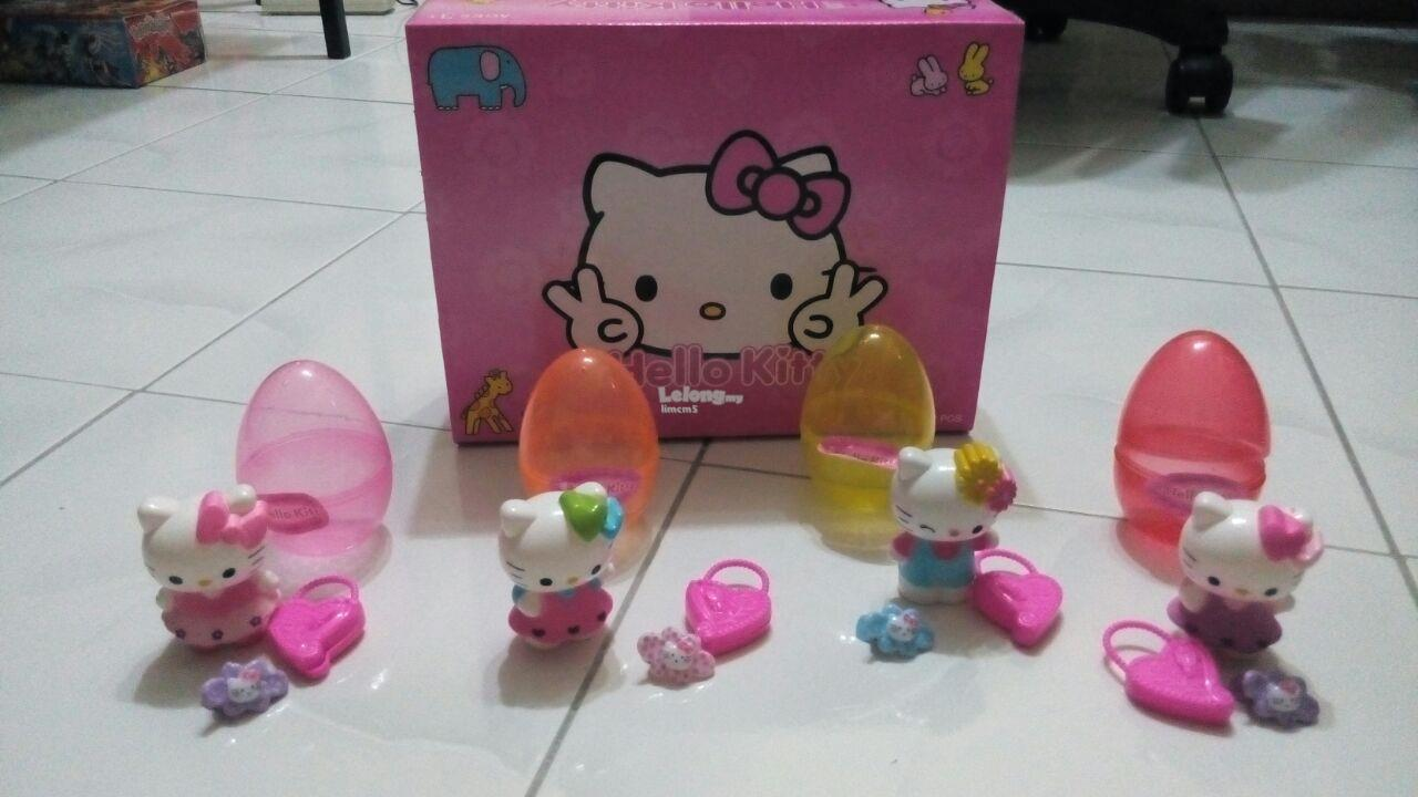 HELLO KITTY SURPRISE EGGS SET (4 In 1)