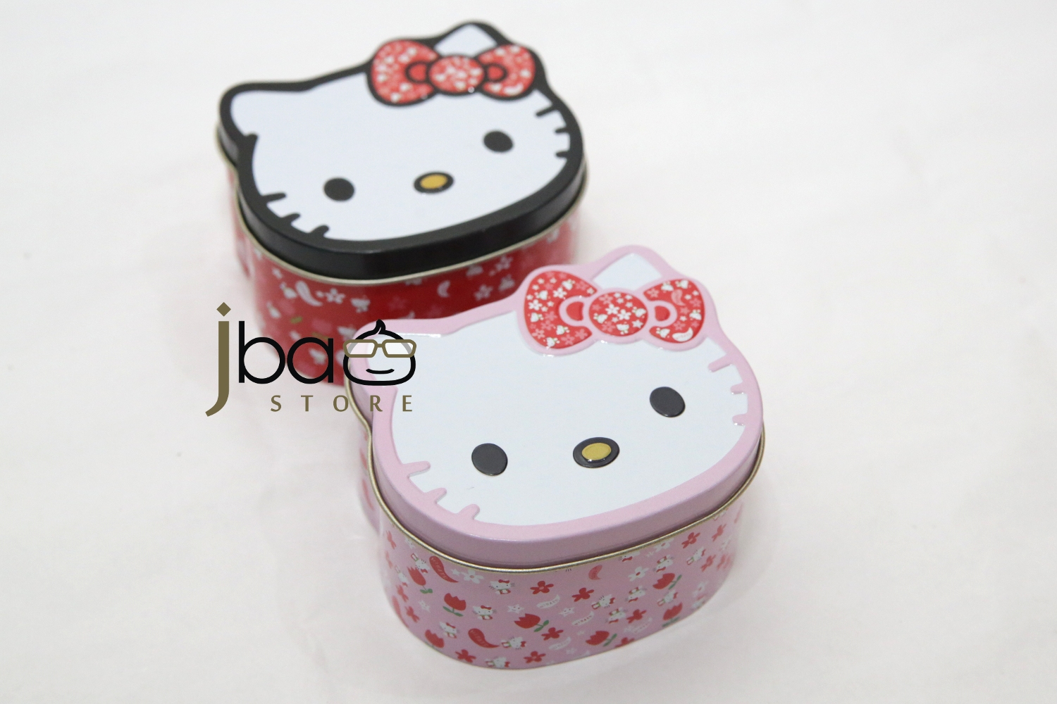 1ac0d86c0 Hello Kitty Tin Box With Rubber Hair Band Birthday Party Gift
