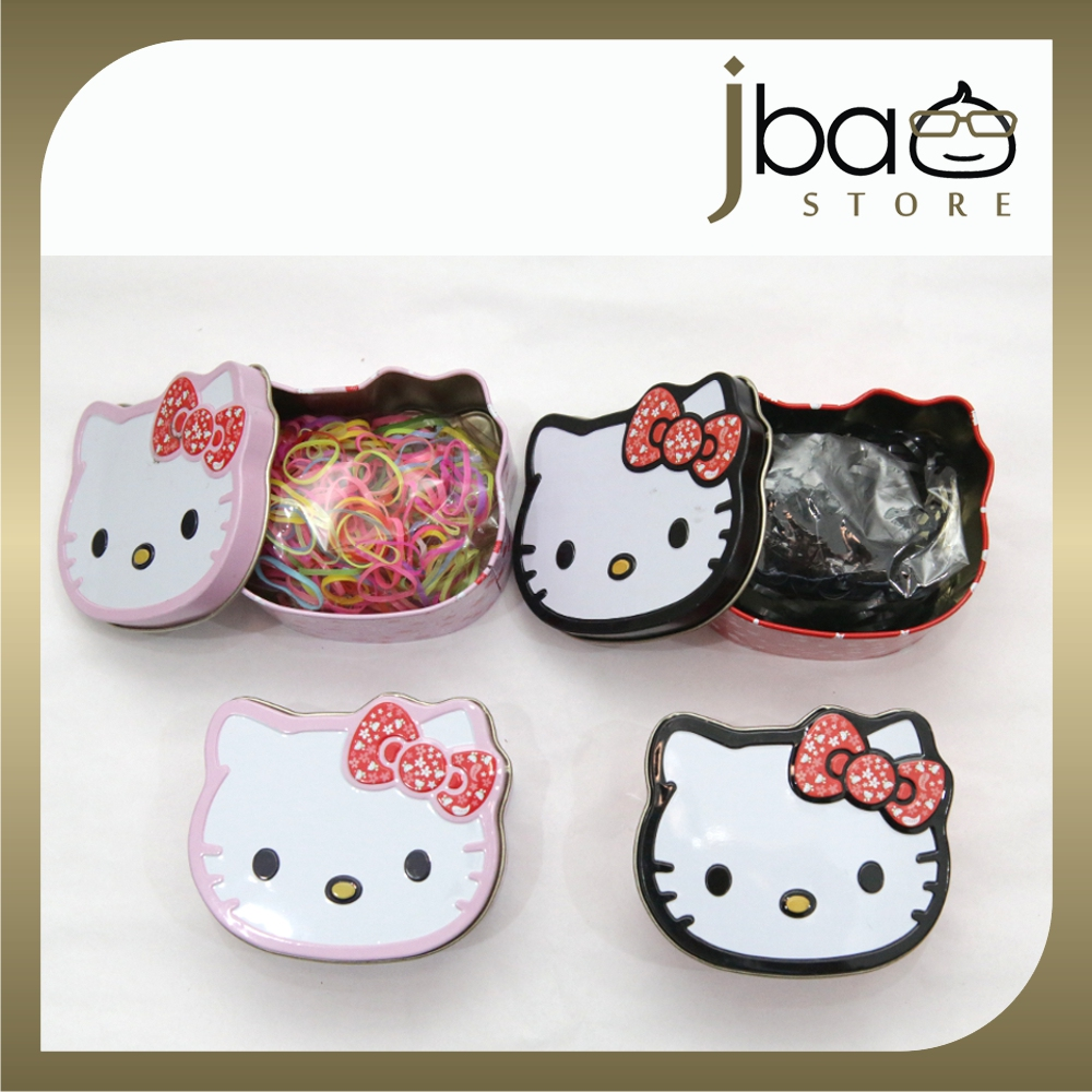 afa6e5a6a Hello Kitty Tin Box With Rubber Hair Band Birthday Party Gift. ‹ ›