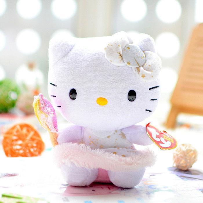 Hello Kitty Ty Beanie Baby Sanrio Plu (end 1 7 2020 2 24 AM) 0f54d454e1b