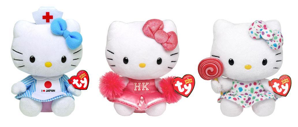 Hello Kitty Ty Beanie Baby Sanrio Plush   65374  Best Valentine ... 173e5f22dba