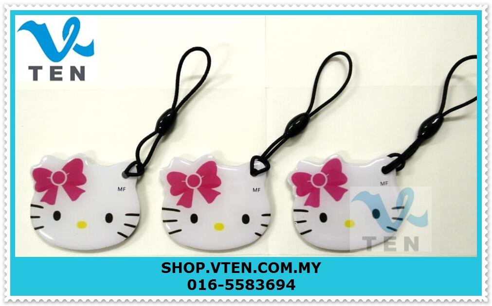 Hello Kitty UID IC Card Rewritable Rfid 13.56 Mhz Uid Changeable