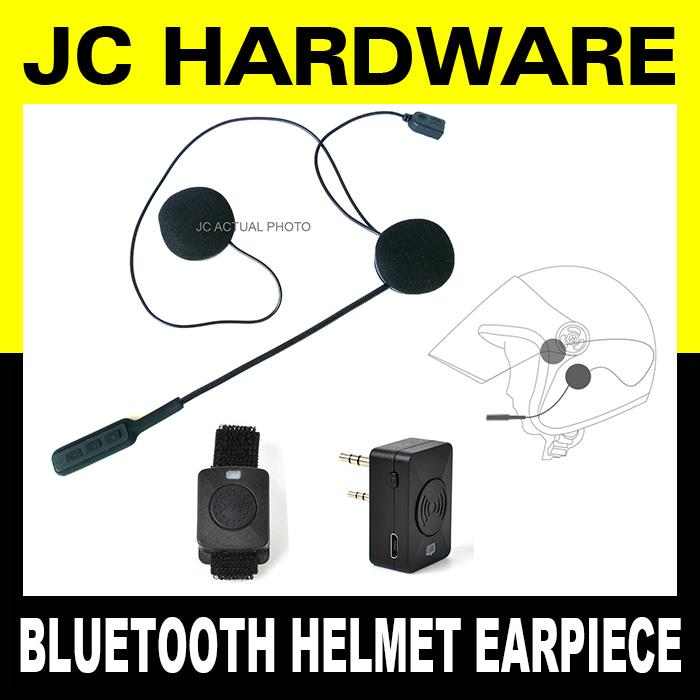 Helmet Bluetooth Wireless Eapiece Handsfree for Walkie Talkie Bike