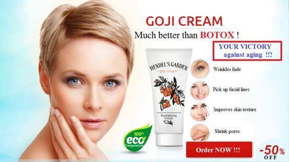 goji cream hendel
