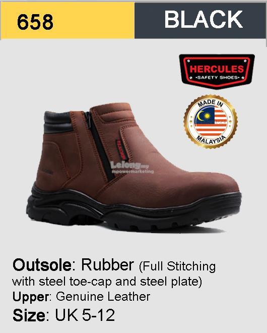 Hercules Half Cut Safety Shoes First (end 9 18 2019 1 15 AM) 8b92d1a8f3