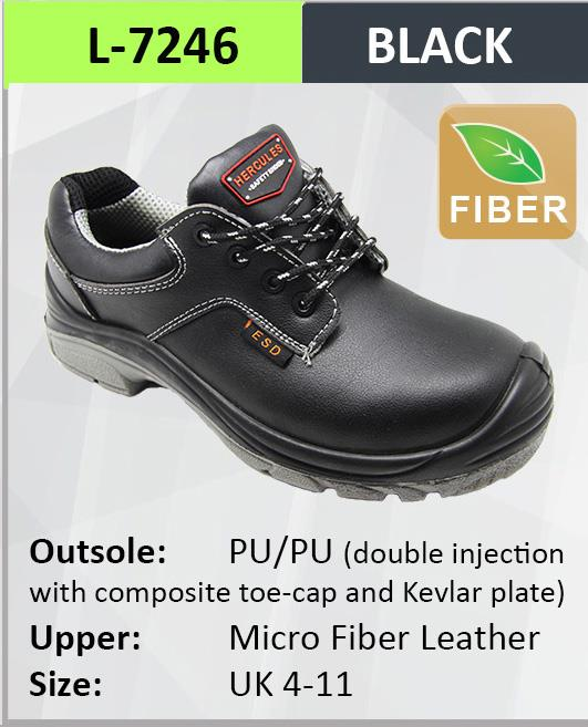 Hercules ESD Safety Shoes Cow Leather Boot Shoes SKU-7246