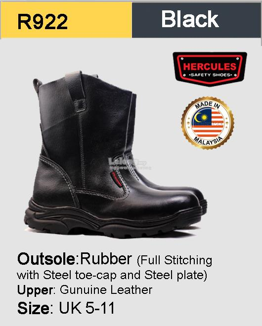 947a6b2e382 Hercules High Cut Safety Shoes Safety Boot Made In Malaysia R922