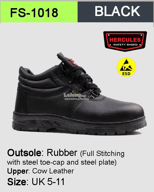 Hercules Safety Shoes Cow Leather ESD Shoes Boot Shoes SKU-1018. ‹ › 3f60eed483
