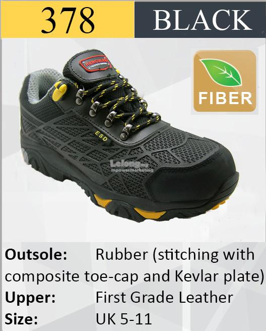 Hercules Safety Shoes Walking Shoes (Light Weight) Sizes 5-11 SKU-368