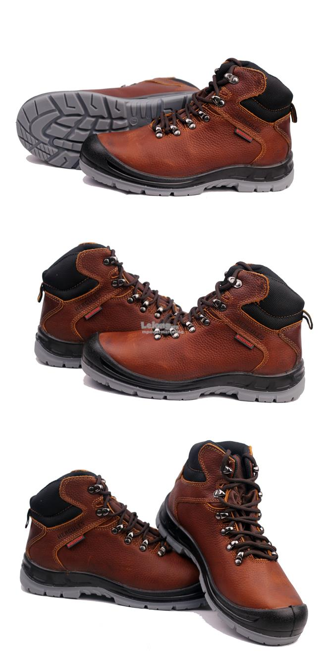 Hercules Water Prove Safety Shoes Middle Cut Sizes 5-12 T698