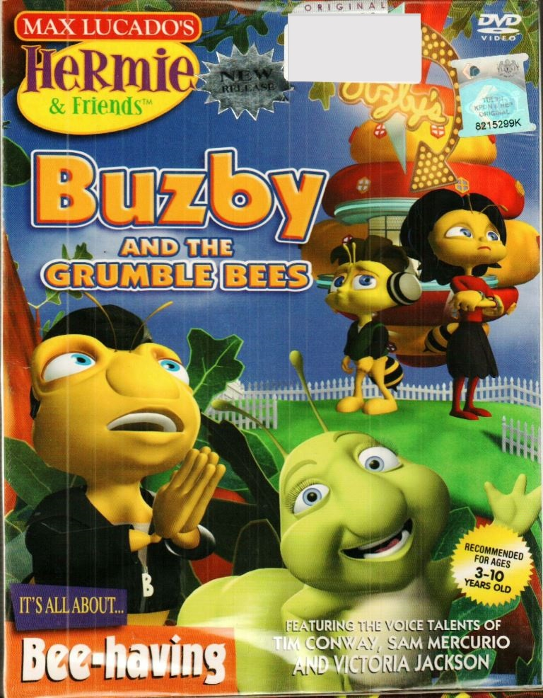 Hermie  & Friends - Buzby And The Crubles Bees DVD