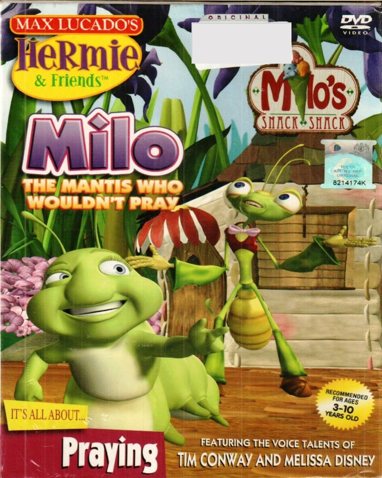 Hermie  & Friends - Milo The Mantis Who Wouldn't Pray DVD