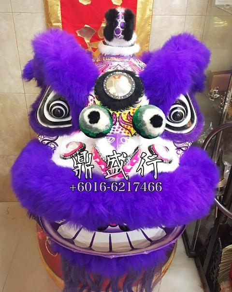 HESHAN Lion Dance Set Chinese Traditional Costume Performance Training
