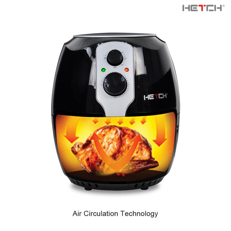 HETCH Air Fryer MAF-1722-HC [1400W / 3L / Frying Net]