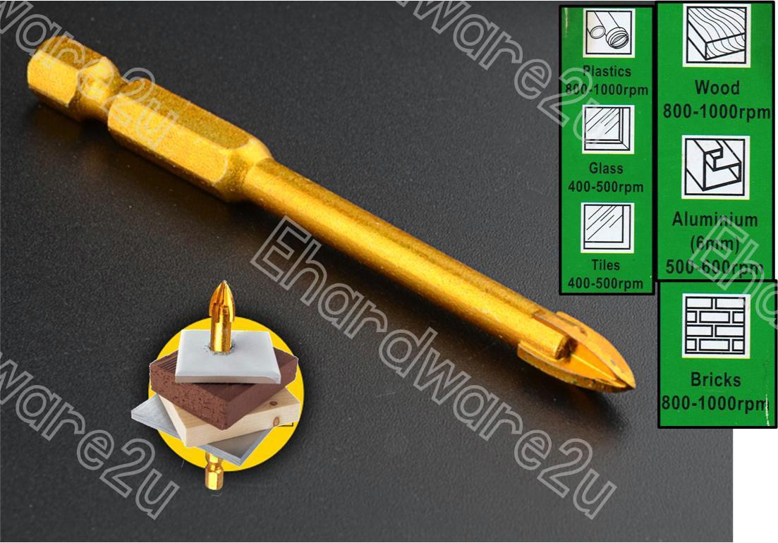 Hex Shank Drill Bit For Ceramic Tile End 5132019 702 Am